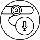 expansion microphone ready icon