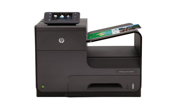 Inkjet Printer With Sample Printout
