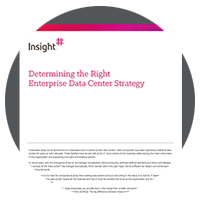Determine the right infrastructure strategy whitepaper
