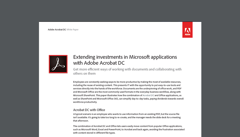 Buy Adobe Acrobat Document Cloud Software | Insight Canada