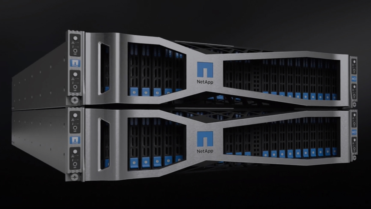 NetApp Hyper Converged Infrastructure video still