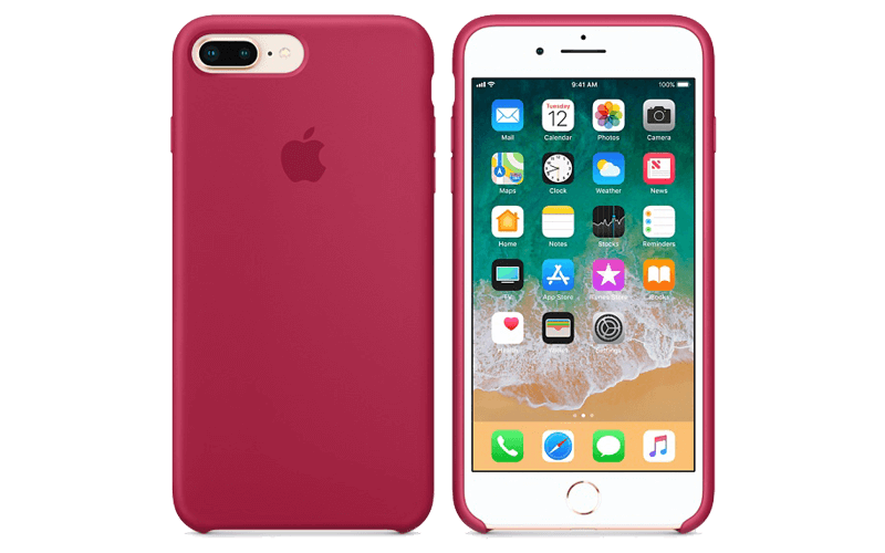 Apple iPhone colored case