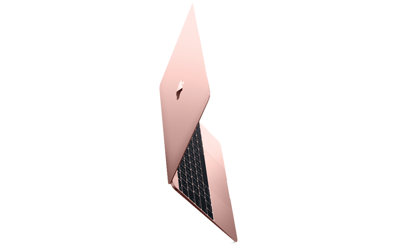 Apple Macbook in rose gold