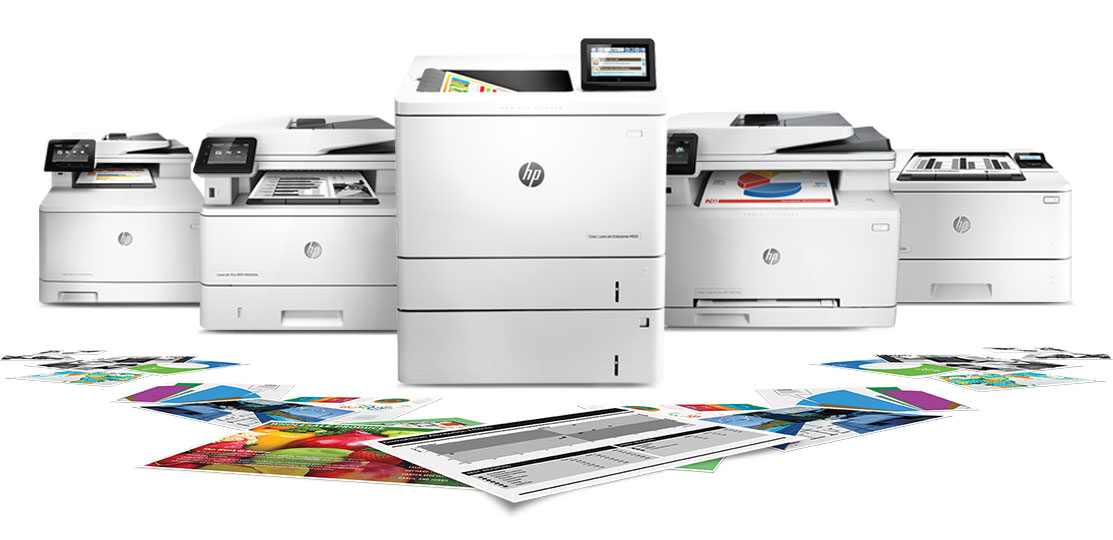 HP LaserJet family of printers