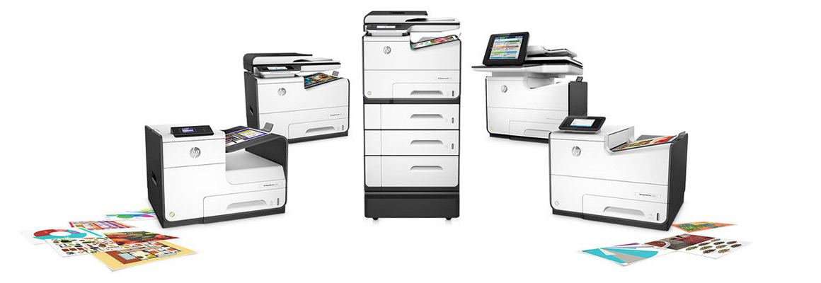 Family of HP PageWide business printers