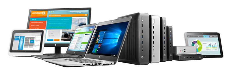 HP family of Thin Client pcs