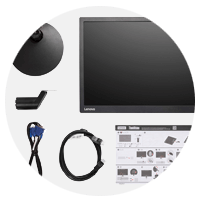 Lenovo ThinkVision accessories for monitors