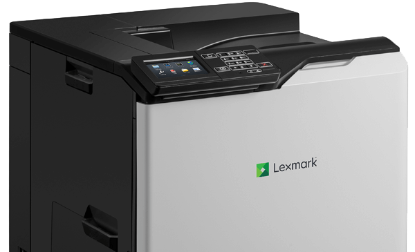 Lexmark CS820 series printer