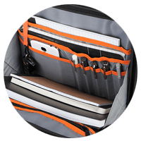 Targus laptop case and bags for easy organization