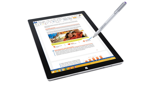 Microsoft Surface Pro tablet computer