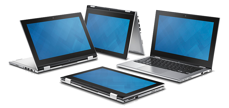 Inspiron 11 3000 Series 2-in-1 Touch Notebooks