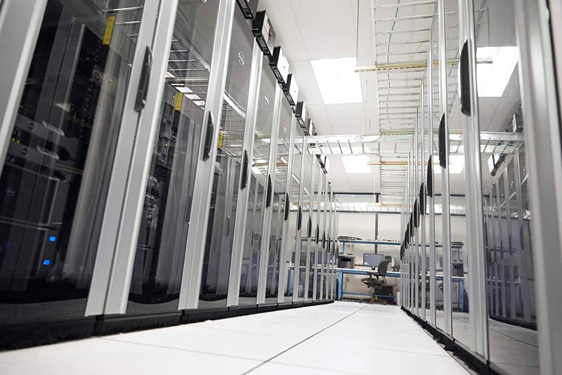 Empty Data Center