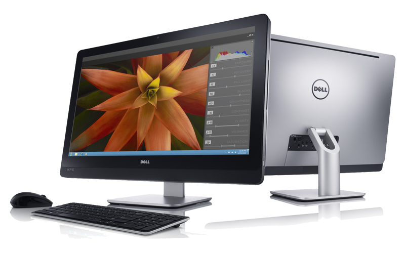 Two XPS One 2710 AIO Desktops