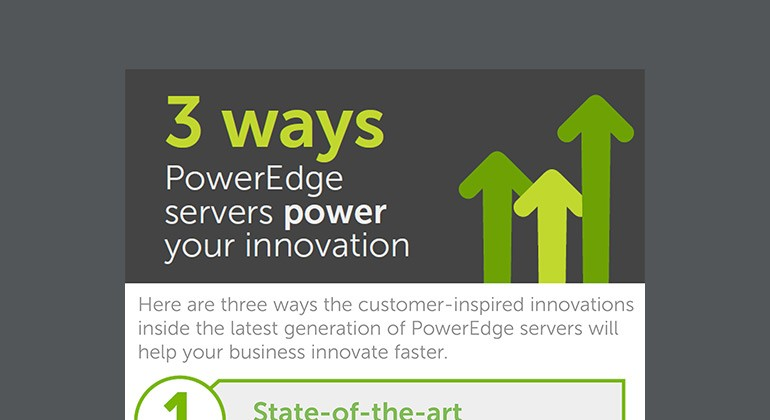 3 Ways PowerEdge Servers Power Your Innovation infographic thumbnail