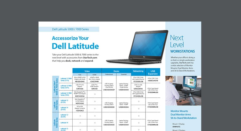 Accessorize Your Dell Latitude product overview thumbnail