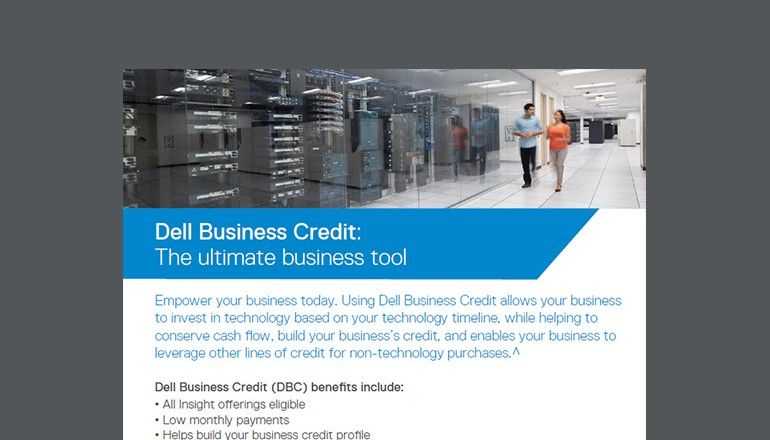 Dell Business Credit the Ultimate Business Tools flyer thumbnail