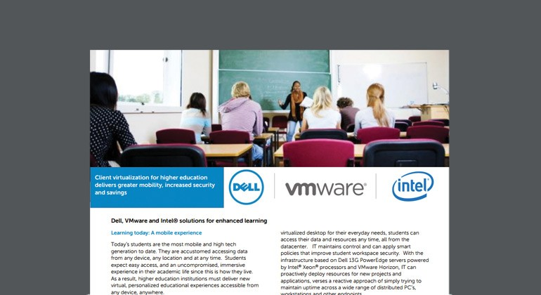 Dell and VMware Solutions