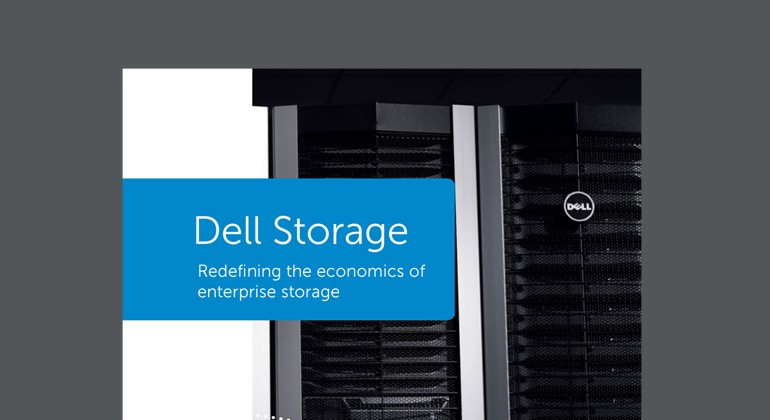 Dell Storage: Redefining the Economics of Enterprise Storage Thumbnail