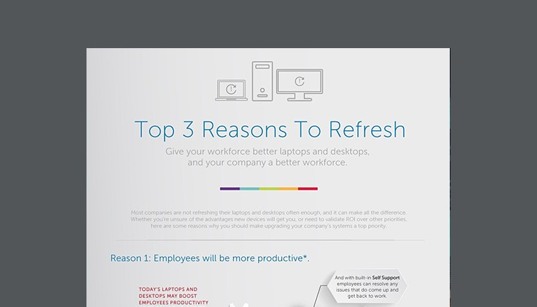 Top 3 Reasons to Refresh Infographic
