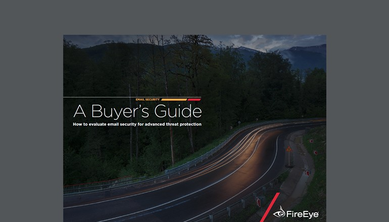 FireEye Email Security Buyer's Guide cover thumbnail