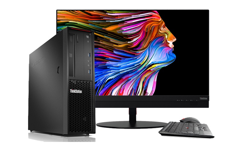 Lenovo ThinkStation P Series Small Form Factor workstation product