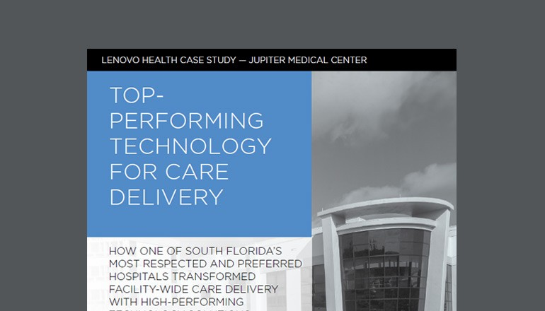 Top-Performing Technology for Care Delivery Case Study thumbnail