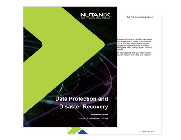 Best Practices for Data Protection and Disaster Recovery cover