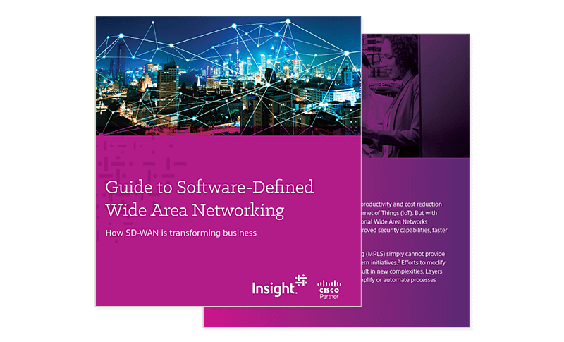 Cover image of the guide to Software-Defined Wide Area Networking