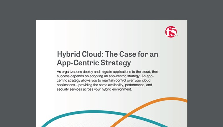 Hybrid Cloud: The Case for an App-Centric Strategy whitepaper thumbnail