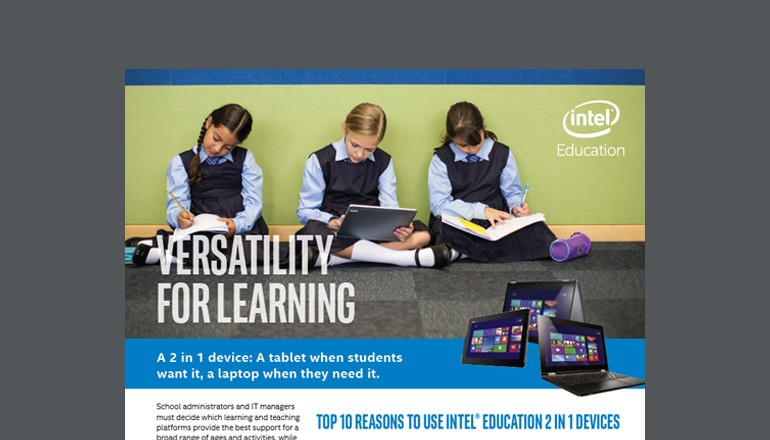 2 in 1 Devices For Education Solution brief thumbnail