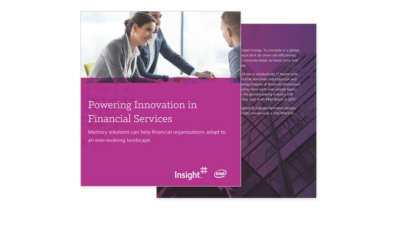 Powering Innovation in Financial Services cover