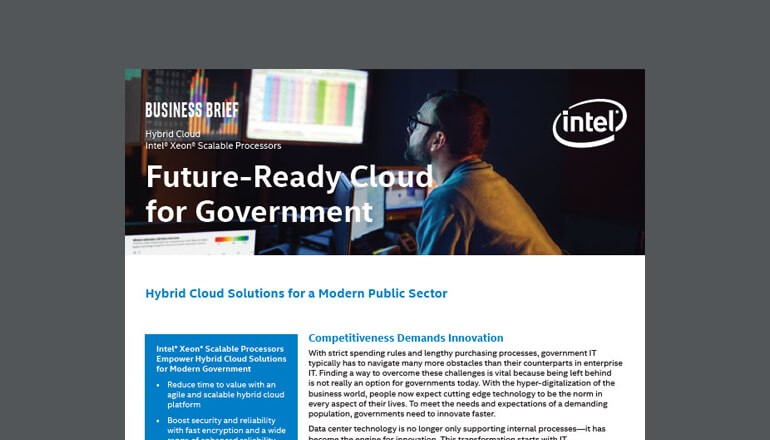 Future-Ready Cloud for Government thumbnail