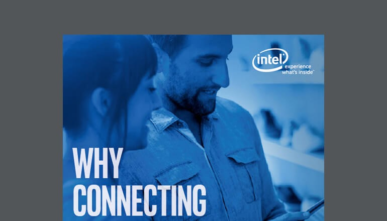 Cover of Intel's Why the IoT Is a Top Priority for Retail Guide