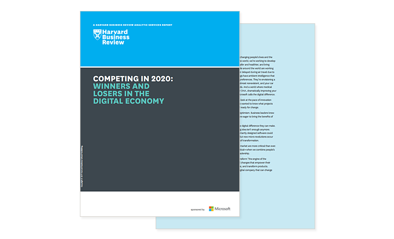 Competing in 2020: Winners and Losers whitepaper cover
