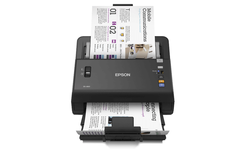 Epson WorkForce DS 860 scanner
