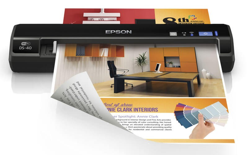 Epson WorkForce DS 40 portable scanner