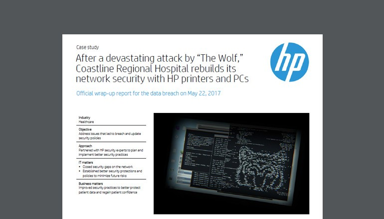 Coastline Regional Hospital Case Study cover