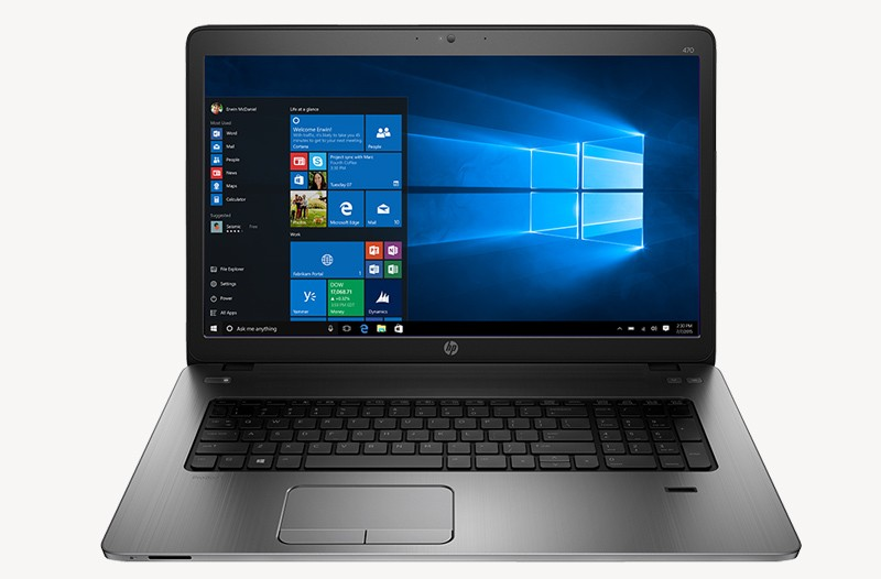 HP ProBook 430 G3 using Windows 10