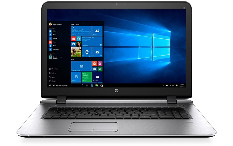 HP ProBook 470 G3 using Windows 10