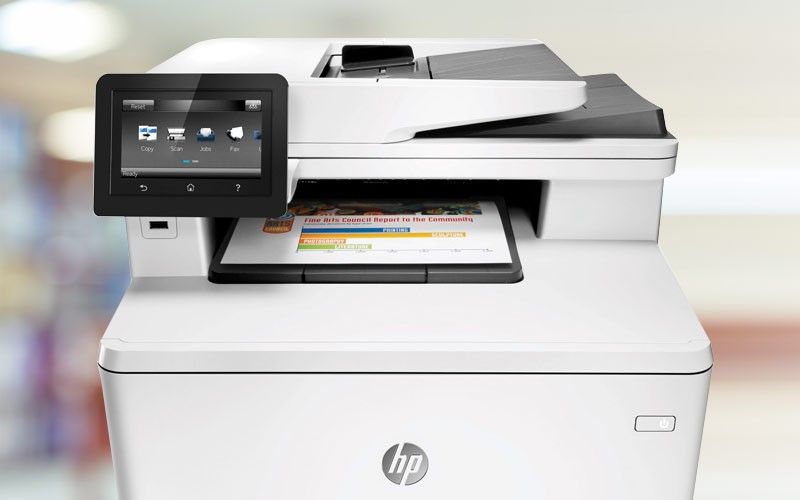 HP LaserJet Pro M277dw on able