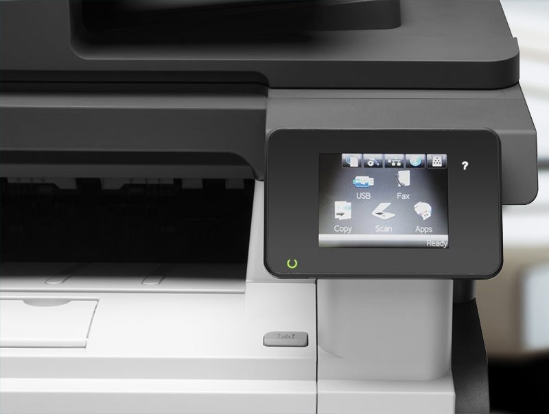HP LaserJet Pro MFP M521dn multifunction printer