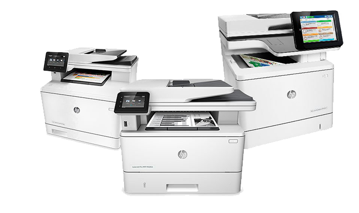 woman-looking-at-documents-hp-laserjet-mfp-m630