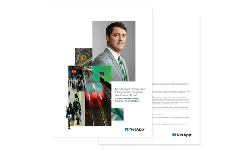 Not All Hyper Converged Infrastructure Solutions Are Created Equal whitepaper cover