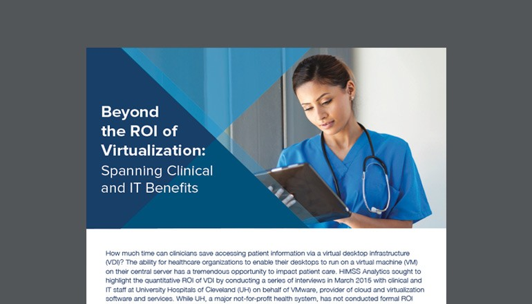Cover of Beyond the ROI of Virtualization whitepaper